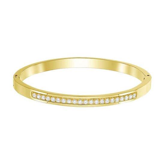Swarovski armbånd Further Thin, Gold plating - 5387558