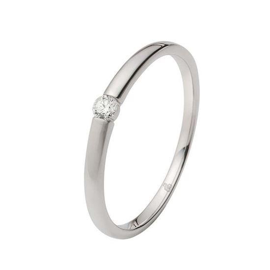Enstens diamantring Ja! med 0,06 ct i 9kt gull. TW-Si. -5100027