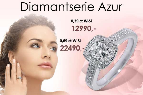 Diamantring Azur
