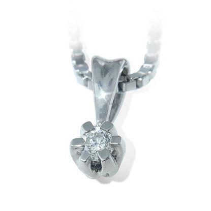 Diamantsmykke Sitara i gull med 0,03 ct W-Si-322103