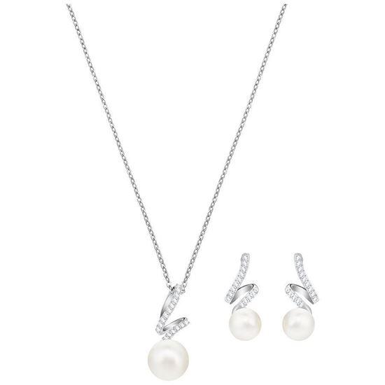 Swarovski smykkesett Gabriella Pearl - 5410975