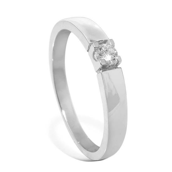 Diamantring Iselin med 0,10 ct TW-Si-8501010