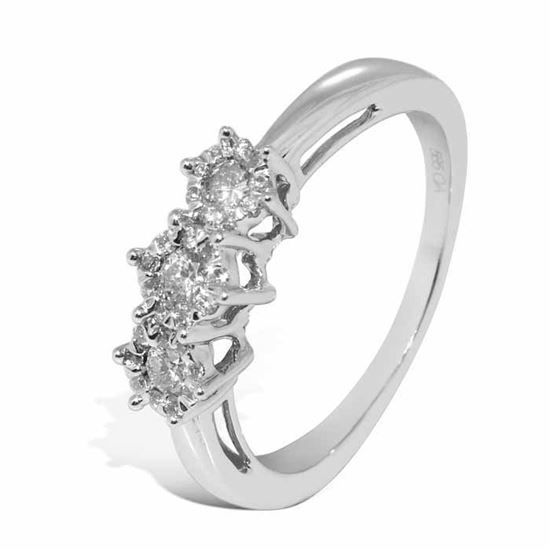 Diamantring Azur med 0,29 ct W-Si - ABR00611