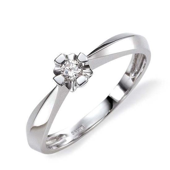Diamantring Evita med 0,10 ct W-Si-50110