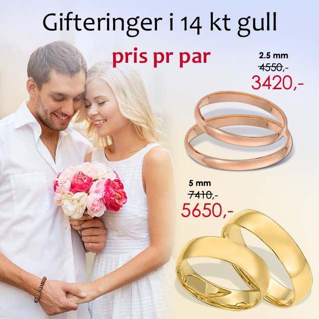 gifteringer fra orest