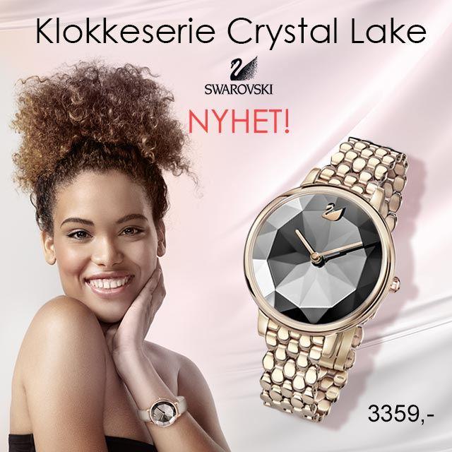 Swarovski klokke Crystal Lake