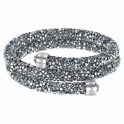 Swarovski armbånd. Crystaldust, Double, M - 5237762