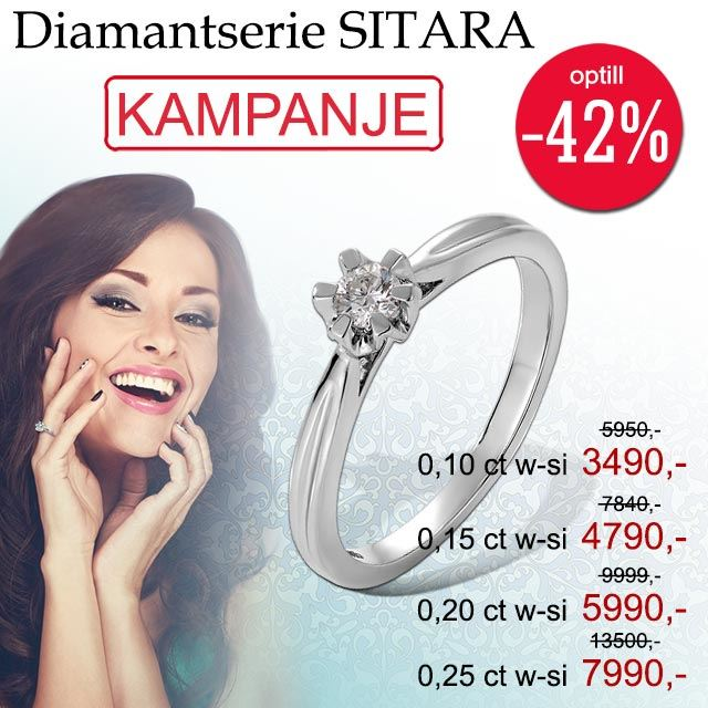Diamantring Sitara
