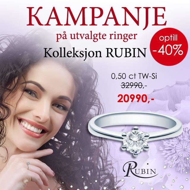 Diamantring Rubin