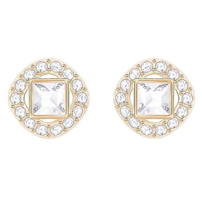 Swarovski øredobber Angelic Square Rose gold plating - 5352049
