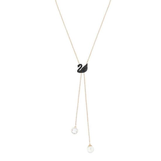 Swarovski collier Iconic Swan Double Y - 5351806	S