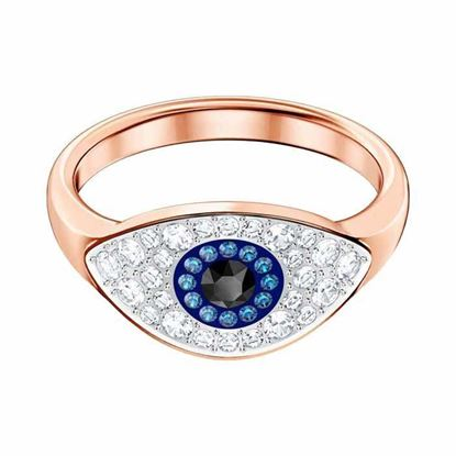 Swarovski ring. Duo Evil Eye - 5448855