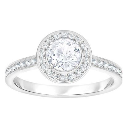 Swarovski ring Attract Light Round - 5409189