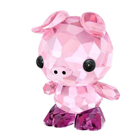 Swarovski figurer. Zodiac - DETERMINED PIG - 5302557
