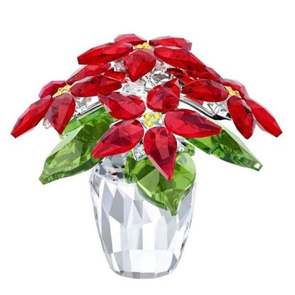 Swarovski figurer. Poinsettia, large - 5291024