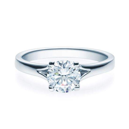 Enstens platina diamantring med 1,00 ct TW-Si -18020100pt