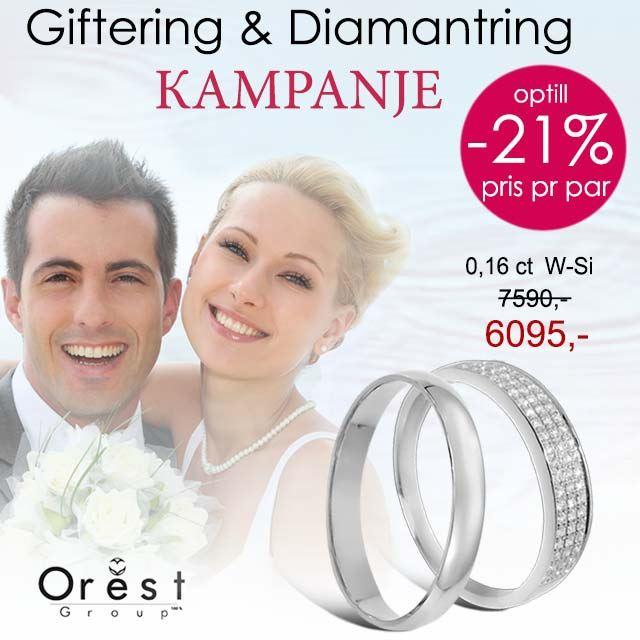 Giftering & diamantring