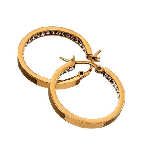 EDBLAD øredobber. Monaco small gold - 41530033