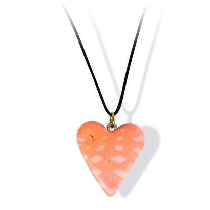 Håndlaget smykke, hjerte -2802036