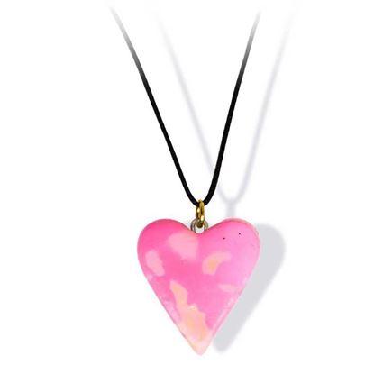 Håndlaget smykke, hjerte -2802039