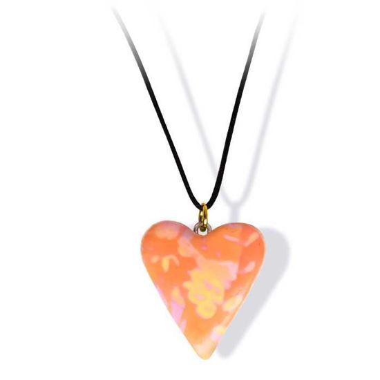 Håndlaget smykke, hjerte -2802047