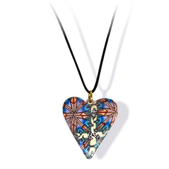 Håndlaget smykke, hjerte -2802049