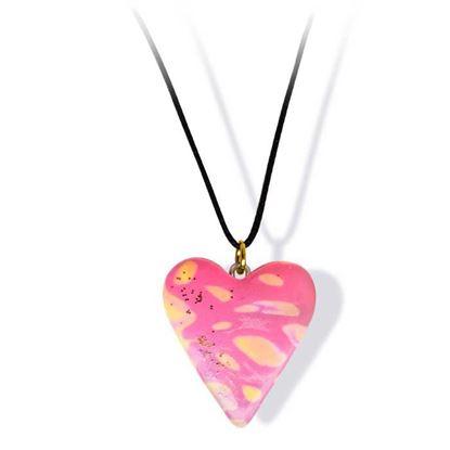 Håndlaget smykke, hjerte -2802053