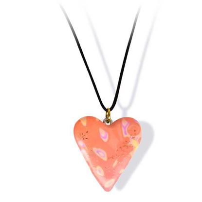 Håndlaget smykke, hjerte -2802054
