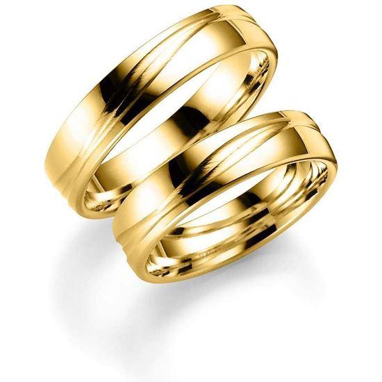 Bilde av Gifteringer i gull 14kt, 4 mm. ESPELAND - SE120GU40