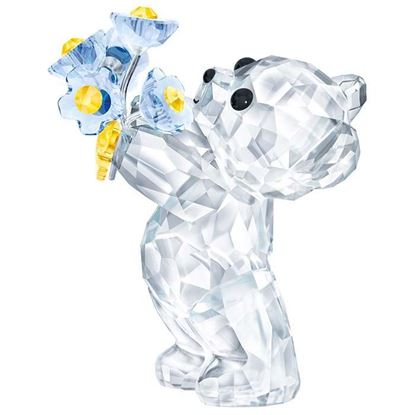 Swarovski figurer. Kris Bear - Forget-Me-Not - 5427993