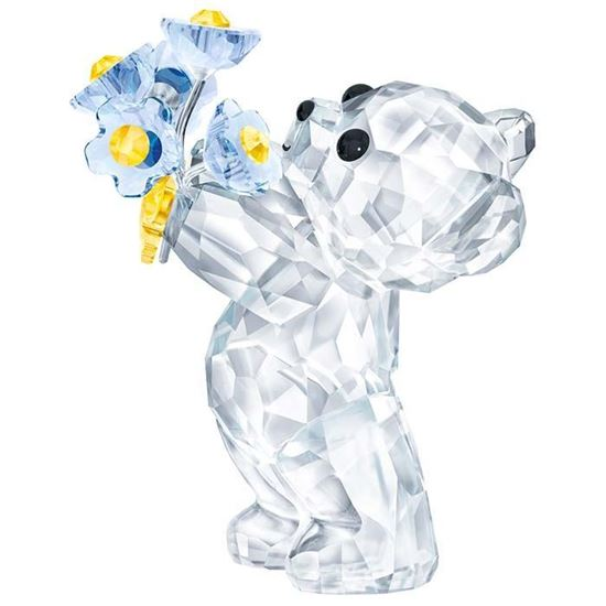 Swarovski figurer. Kris Bear - Forget-Me-Not - 5427993
