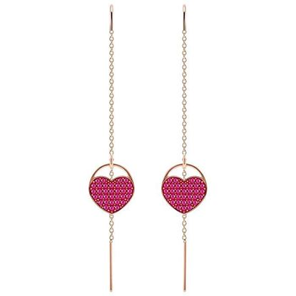Swarovski øredobber Ginger Heart - 5472445