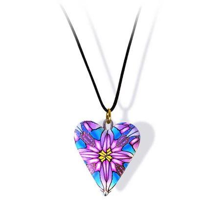 Håndlaget smykke, hjerte -2802057