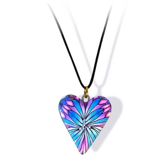 Håndlaget smykke, hjerte -2802061