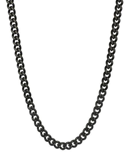 Herrekjede DYLAN i stål 56cm/6cm - 520610