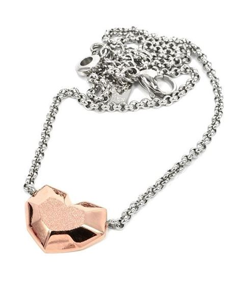 Smykke i forgylt stål DAISY - 10582819