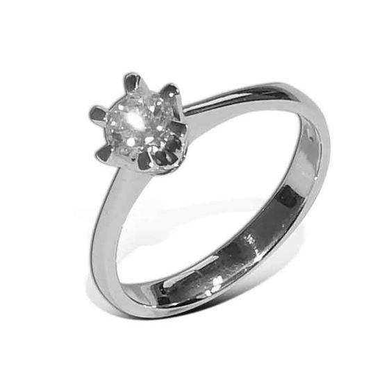 Diamantring Gia med 0,40 ct W-SI - 201120