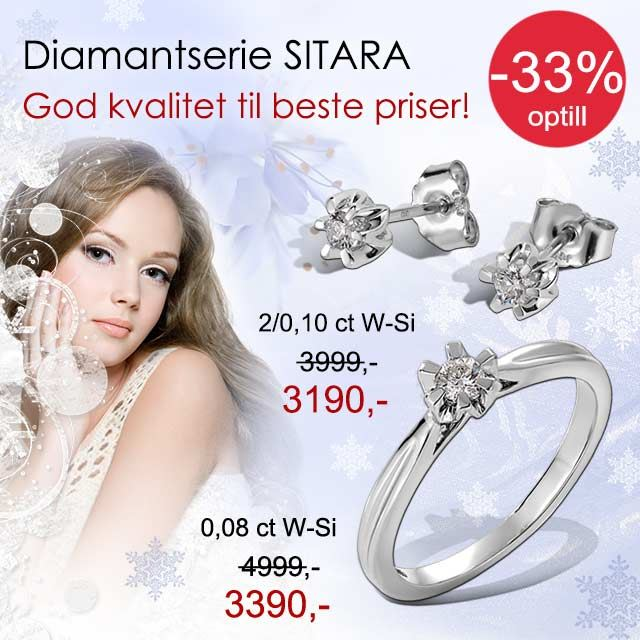 Diamantsmykker Sitara