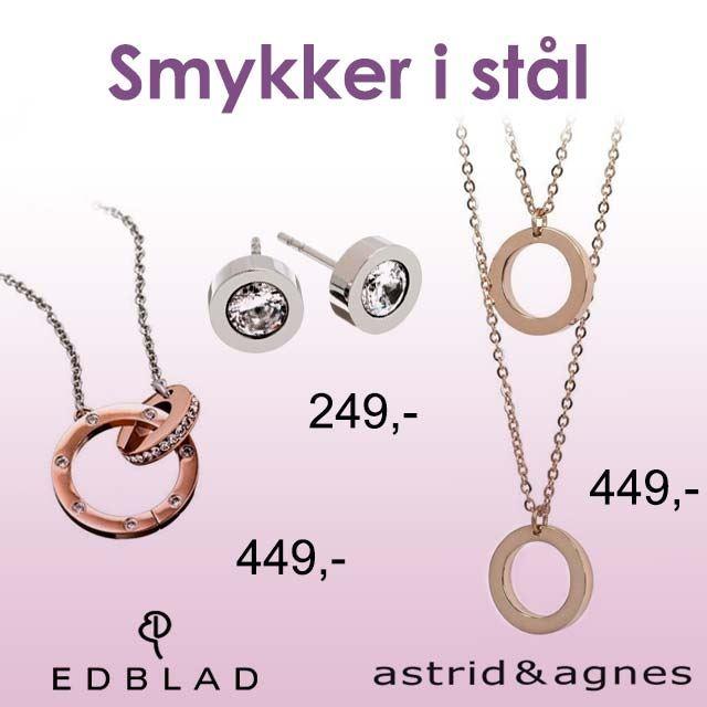 Smykker i stål