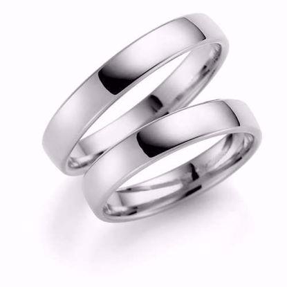Samboerringer i sølv, 4 mm. ESPELAND - SE101SI40