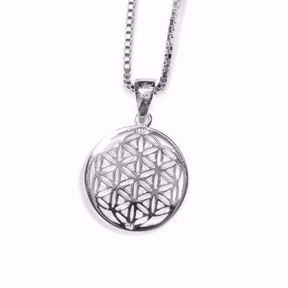 Sølv smykke sirkel -1312201811