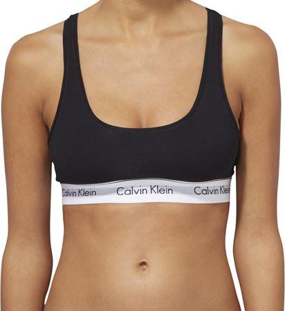 Bilde av Calvin Klein 'MODERN COTTON' bralette, svart