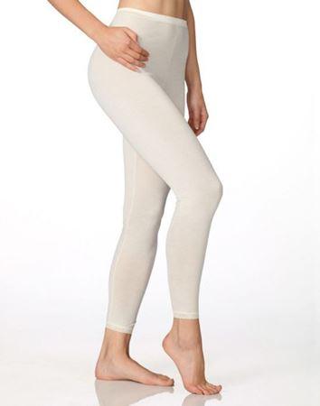 Bilde av Calida 'CONFIDENCE' ull/silke leggings, natur