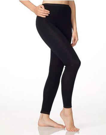 Bilde av Calida 'CONFIDENCE' ull/silke leggings, svart