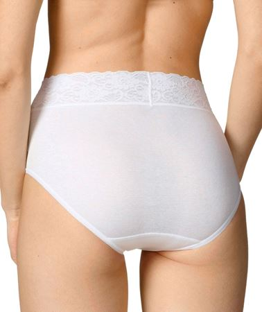 Bilde av Calida 'LYCRASPITIZE' women midi brief, hvit