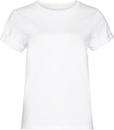 Bilde av Calvin Klein 'COTTON CORD TOP' t-shirt, white