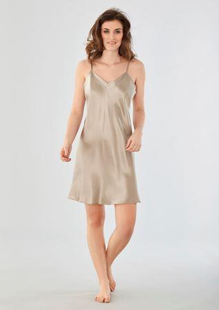 Bilde av Damella 'SILKE' kjole, champagne