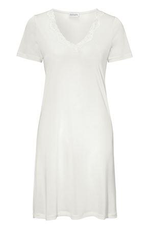 Bilde av Damella 'STRIKKET SILKE' kjole, ivory