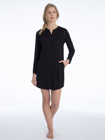 Bilde av Calida 'ISABELLA' nattskjorte, black