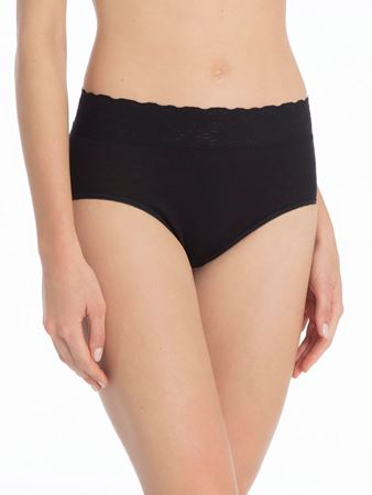 Bilde av Calida 'LYCRASPITIZE' midi brief, black